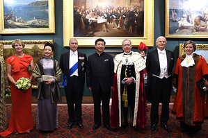 """Chinese President Xi Jinping's speech at a dinner hosted by the Lord Mayor of the City of London at the Guildhall on Oct. 21 is visionary, said Britons who attended the dinner. """"It's to me the right route,"""" said Doug Barrow, chief executive at Maritime London. """"He was very real on what we can do together."""""""